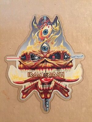 IRON MAIDEN The Clairvoyant UK shaped picture disc EMI EMP79 1988
