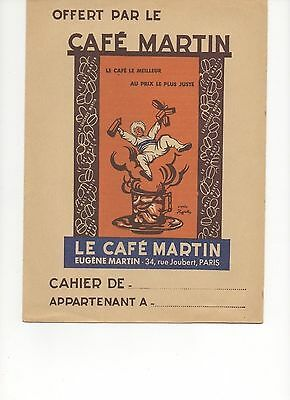 Protege-Cahier Cafe Martin