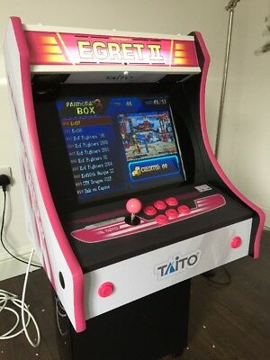 Bartop arcade machine With Egret 2 Art Style