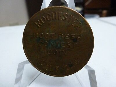 Rochester Root Beer Contest coin