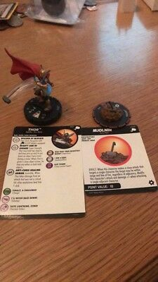 Marvel Heroclix Mighty Thor Chase Set #061 Thor with #S009 Mjolnir Chase Figure