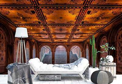 Hall Ceiling Arch Gallery Photo Wallpaper Wall Mural (1X-1206830)