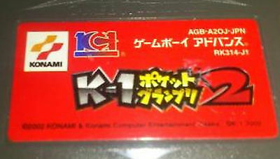 K-1 Pocket GRAND PRIX 2 Gameboy Advance GBA JAPAN #2