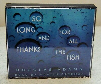 Audio Cd - Douglas Adams, So Long And Thanks For All The Fish