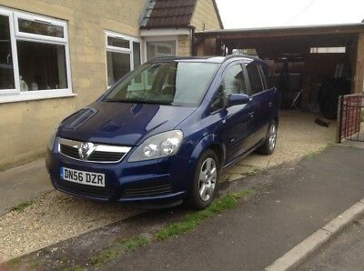 Vauxhall Zafira 1.8 REPAIR OR SPARES
