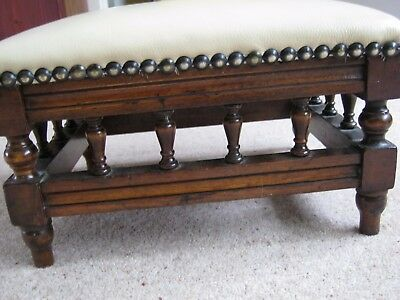 Victorian antique Footstool