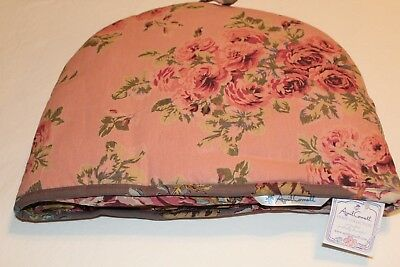 April Cornell Tea Cozy Reversible ROSES VICTORIAN ROSE Collection NWT 100%Cotton