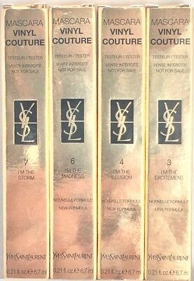 YvesSaintLaurent MASCARA VINYL COUTURE 6.7ml YSL colours 3, 4, 6 & 7 choose your