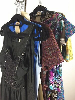Wholesale Job Lot Ladies Dresses. Vintage 1960s-90s. 11 items
