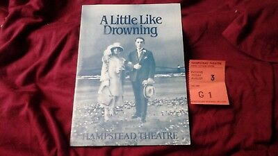 A Little Like Drowning - Minghella - Alfred Molina  1984 @ Hampstead + Ticket