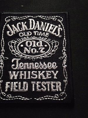 Tennessee Whiskey Patch Jack Daniels No. 7 Iron On Sew Shirt Jacket Hoodie Bag