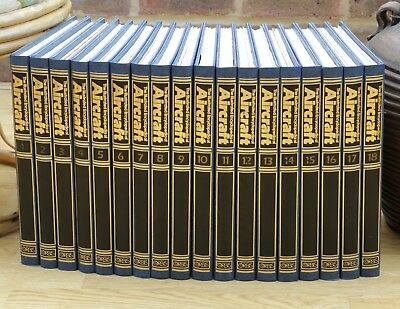 Orbis The Illustrated Encyclopedia Of Aircraft Complete 18 Binders Vg Condition