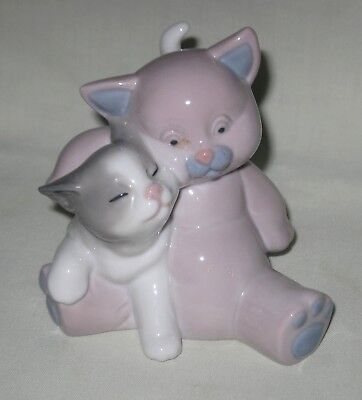 Nao by Lladro Porcelain  'A Friend for Cuddles' Figure ~ No. 1461