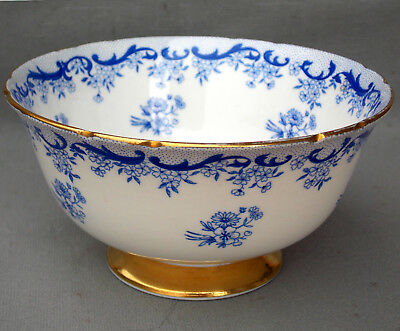 Shelley 'heavenly Blue' Sugar Bowl, Ripon Shape