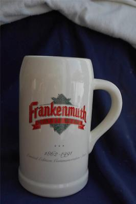 FRANKENMUTH BREWERY LIMITED EDITION 1991 Commemorative Beer Stein Mug 32 ounce+