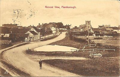 Old Postcard Of Flamborough General View
