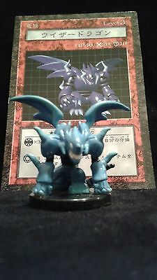YUGIOH Dungeon Dice Monsters DDM - Japanese MAGICIAN DRAGON  figure & card lot
