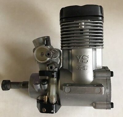 YS 61-S R/C Nitro Helicopter Engine Used Great Compression