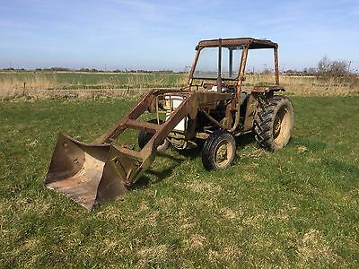 Loader For Massey 135 Tractor