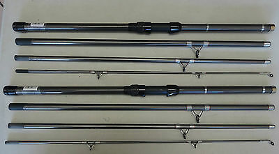 Pair Of 9' Travel Sea Spin Rods Heavy 150G Ex Display Mint
