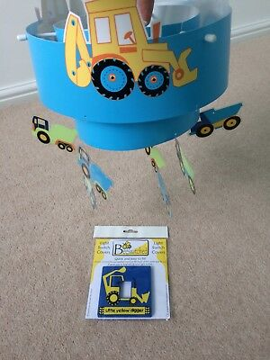 Children's Digger Light Shade