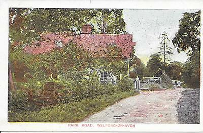 Old Postcard Of Park Road, Welford-On-Avon