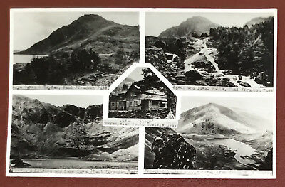 Vintage Postcard - Nant Ffrancon Pass - Merseyside Youth Hostel Ltd