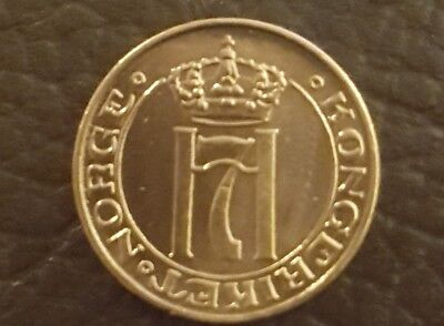 Norway 1 ore  1933 BEAUTIFUL condition coin