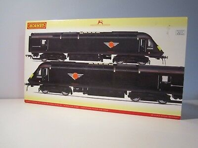 Hornby R2705 Grand Central Trains Class 43 HST Power Cars DCC Ready Excellent