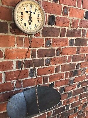 Vintage  Detecto Hanging Produce Scale - Jacobs Brooklyn  New York