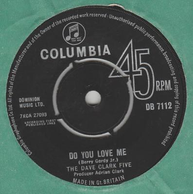 Dave Clark Five Do you love me Columbia DB 7112 EX-