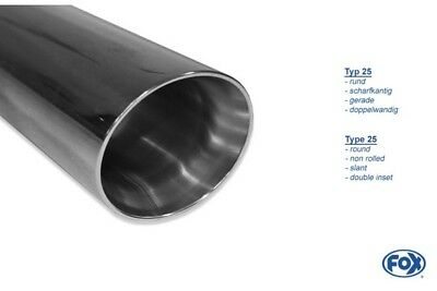 Fox Duplex Performance Exhaust VW GOLF VII 2.0L GTI 195kW 228kW RE / Li Each