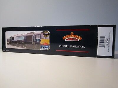 Bachmann 32-976DC Class 66/9 DRS 66412 DCC Fitted - New in Box