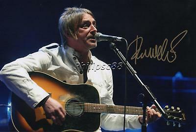 Paul Weller Genuine Autographed 12x8inch photograph