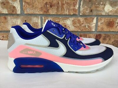 668ac24246 Women's Nike Air Max 90 Ultra 2.0 SI Blue Running Shoes Size 10.5 881108-101