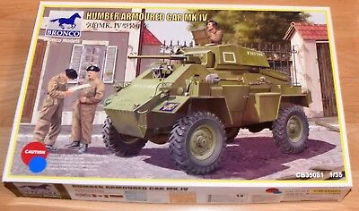 BRONCO Humber Armoured Car MK.IV (CB-35081) - 1/35