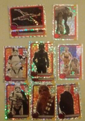 Topps Star Wars Journey to The Last Jedi cards Foil/Jedi, 99p for 4