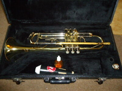 Boosey & Hawkes Vintage Trumpet with Case