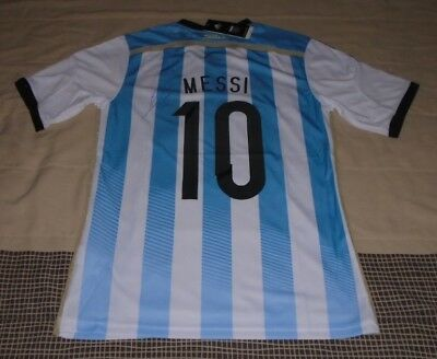 2014 WC Argentina Home Jersey hand signed autographed by LIONEL MESSI COA