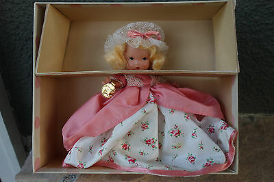 Nancy Ann Storybook Doll Colonial Dame Pudgy MIB with Wrist Tag