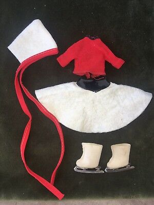 American Character 1950's Betsy Mccall Doll Original Ice Skating Outfit