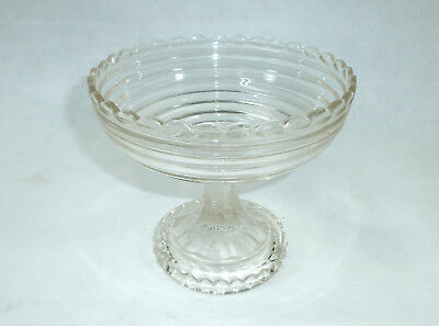 Biedermeier Glass Bowl Around 1850 Glass Bowl