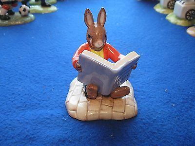 6Royal Doulton Bunnykins Entitled William Reading Without Tears  Db401