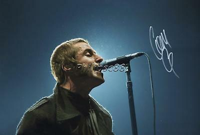 "Liam Gallagher ""Oasis"" Genuine Autographed 12x8inch photograph"