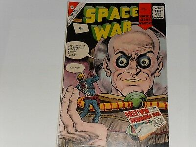 SPACE WAR COMIC, #12 AUGUST 1961, CHARLTON COMICS, 6d ON COVER