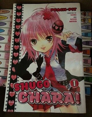 SHUGO CHARA manga comic books, 1-11 books paperback lot English.