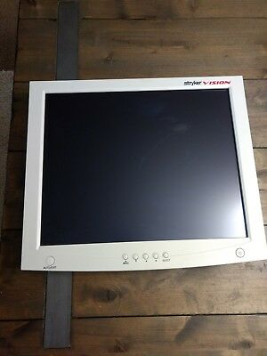 """Stryker 19"""" Vision Elect HDTV Surgical Viewing Monitor 240-030-960"""