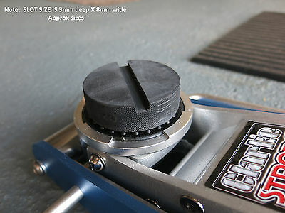 Audi A3 / S3 8V Tool Jack Pad Adapter Pinch weld rubber pad trolley jacking