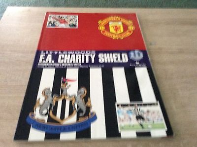 Charity Shield Manchester United v Newcastle United 11.8.1996