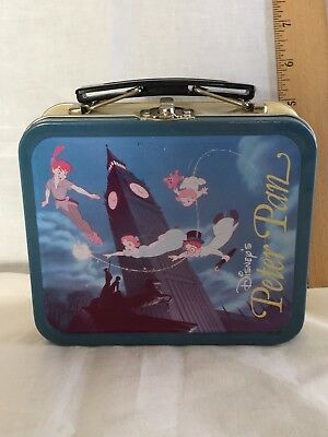 Disney Peter Pan Lunchbox Limited Edition  2775/5000 w/Tinkerbell, Pins, Tags